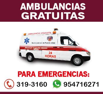 Municipalidad de Pueblo Libre - Ambulancia